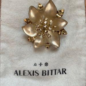 Alexis Bittar Brooch.Excellent condition